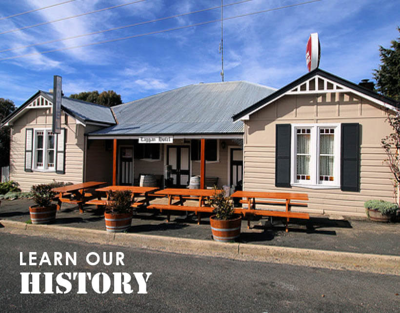 About the Laggan Pub History