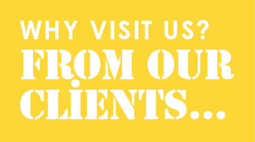 Why visit us? From our clients